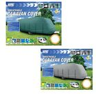Maypole Superior 4 PLY Waterproof Breathable Full Caravan Cover Green or Grey