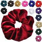 Plain velvet Fabric Hair tie for girls women, Women's best hair accessories