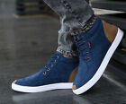 England Men's Suede Breathable Lace Up Ankle Boots Snakers Flat Sneakers T162