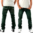Men's Skinny Jeans Chino Trousers From Top Brands Like Rerock Turquoise Green