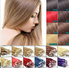 26''Remy Human Hair Extensions Easy Loop Micro Ring Bead Tipped Hair WomenBeauty