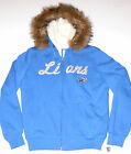 Detroit Lions Full-Zip Hoodie, Women's Size Small, Med, Large or XL, New w/Tag!