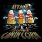 NEW FUNNY DEAD T-SHIRT - Attack of the Zombie Candy Corn - PLUS SIZES