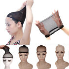 Wig Cap Hair Net Control Hair Under Wigs Party Soft Fishnet Mesh Black brown NEW