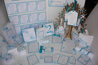 The PEACOCK FEATHER Wedding Stationery Collection ~ Full Range ~ Any colour/Qty