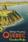 Vintage Quebec, Canada Travel Ad print poster-4 sizes available