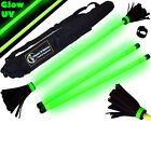 """Moonshine""  Glow in the Dark Flower Stick Set with Hand Sticks & Bag"