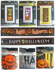 HAPPY HALLOWEEN PARTY BANNERS - Door - Letter - Foil & Giant Decorations
