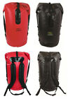 Travel Shoulder Rucksack Dry Waterproof Rucksack Duffle Bag Pack 70L Black Red