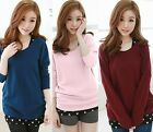 2pcs Women's Twinset Wide Neck Pullover Bowtie Knitwear Heart Knitted Tank Tops