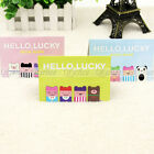 4x Funny Lucky Boy Magnetic Bookmark Book Mark Clip Decoration Lovely Gift New