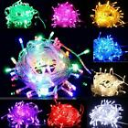 100LED 10M 32ft 220V Fairy Light String Decor Christmas Party Wedding Waterproof