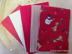 Christmas Cotton Fat Quarter Bundle - 100% best quality cotton - free post