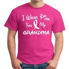 I Wear Pink For My GRANDMA Breast Cancer Awareness T Shirt