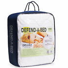 Classic Brands Deluxe Defend-A-Bed Quilted Waterproof Mattress Protector