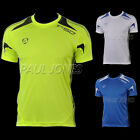 Men Sport Sweat Gym Running Outdoor Short Sleeve T-Shirts Tee Dri-Fit Tops Shirt