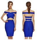Bandage Bodycon Dress Cocktail Party Prom Dress Herve Leger Style 535# XS S M L