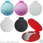 10 x Ladies Handbag COSMETIC MIRROR - COMPACT FOLDING PURSE VANITY POCKET Joblot