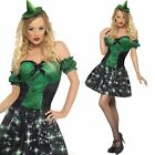 LIGHT UP Ladies Witch Costume - Womens Witches Halloween Glow Tutu Fancy Dress