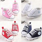 NEW! Infant Toddler Baby Boy Girl Kid Soft Shoes Sneaker Prewalk Newborn to 18m