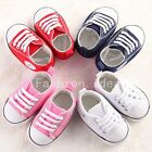 4 colors Infant Toddler Baby Boy Girl Kid Soft Crib Shoes Sneaker 0-18 Months U1