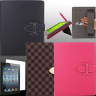 Case for Apple iPAD 2 3 4 New Folio Cover BCGK Holster Leather Screen