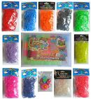 LOOM BANDS - Rainbow Looms Rubber Band Bandz Twistz Kids Bracelet Making Kit/Set