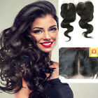 Vingin Brazilian Unprocessed Remy Extensions Human Hair Lace Closure 4*4 Dyed