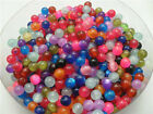 200Pcs Multicolor choose spacer beads resin beads cats eyes bead DIY 6mm DF12A