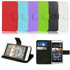 New Leather Wallet Pouch Flip Case Cover For HTC One Mini M4 Classic Hottest
