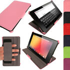 PU Leather Folio Stand Case Cover Holder for Google Nexus 7 FHD 2nd II Gen 2013