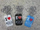 5 Seconds of Summer 5SOS Dog Tag Pendant Necklace - 3 Colours