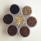 Nano Rings Beads for use with Nano Tip Hair Extensions