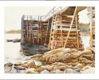 """JOHN SINGER SARGENT """"Wharf At Ironbound"""" CANVAS ART various SIZES available, NEW"""