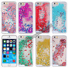 """Fun Glitter Heart Liquid Dynamic Quicksand Crystal Case Cover For iPhone 6 4.7"""""""