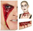 ZIP FACE,BARBED WIRE WOUND MAKE UP FX LATEX SCAR HALLOWEEN SPECIAL EFFECTS