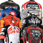 THERMAL winter mens cycling jersey clothes full zip cycle Longsleeve shirts