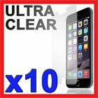 "10x Ultra Clear LCD Screen Protector Film for Apple iPhone 6 6S 4.7"" 6 Plus 5.5"""
