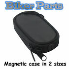 NEW MAGNETIC SMART PHONE TANK HOLDER CARRY POUCH MOTORCYCLE MOTORBIKE
