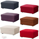 Ikea Kivik Replacement Cover For Footstool With Storage Ottoman Hocker Slipcover