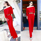 UN0012 Sexy Womens New Strapless Bandeau Slim Siamese pants Girl Lady's Jumpsuit