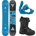 2015 Flow Verve 154 WIDE Snowboard+Flow Five Hybrid Bindings+Flow BOA Boots NEW