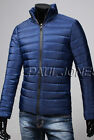 HOT TOP Fashion New Winter Warm Men's Casual Fit Slim Down Jackets Winter Coats
