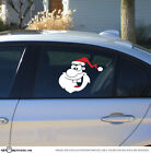 Santa - Christmas Holiday Season Xmas Car Vinyl Decal ST1121