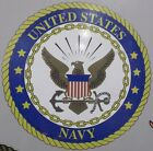 UNITED STATES NAVY VINYL GRAPHIC DECAL/STICKER - FULL COLOR - 2 SIZES