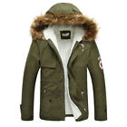 For Cold Weather Men Coat Warm Thicken Hooded Jacket Overcoat Tops HOT Outerwear
