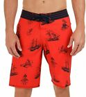 Quiksilver Men's Squalls 4 Way Stretch Board Shorts-Red