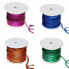 """1/4"""" x 80 yards Sequin RIBBON for Wedding FAVORS Invitations Crafts"""