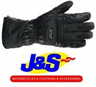 IXS NJORD GORE-TEX GLOVE MOTORCYCLE WATERPROOF MOTORBIKE GLOVES BLACK J&S