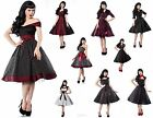 IAL Pin-Up Vintage 50er Kleid Rockabilly Tanzkleid Rock´n Roll AUSWAHL